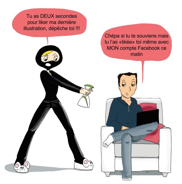 poulette de bresse illustratrice web 2.0 à Lyon