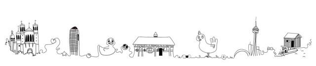 Poulette de bresse illustratrice a lyon