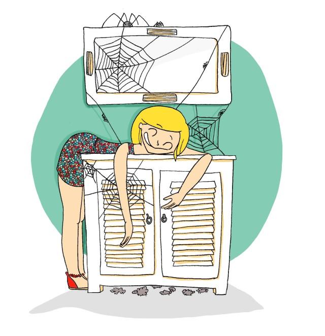 PdB aime retrouver ses meubles , c'est comme ça